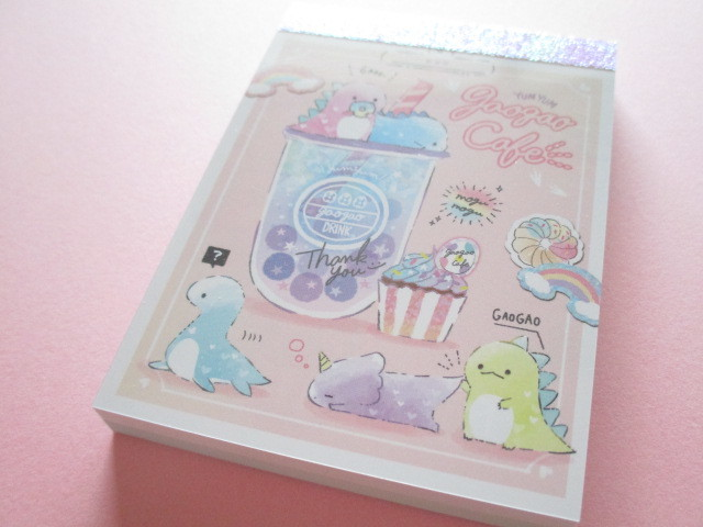 Photo1: Kawaii Cute Mini Memo Pad Q-LiA *Gaogao Cafe (40414)