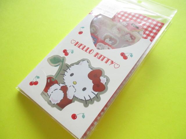 Photo1: Kawaii Cute Volume Stickers Sheet Sanrio Original *Hello Kitty (16270-1)