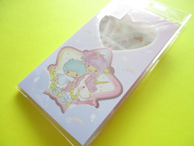 Photo1: Kawaii Cute Volume Stickers Sheet Sanrio Original *Little Twin Stars (16273-6)