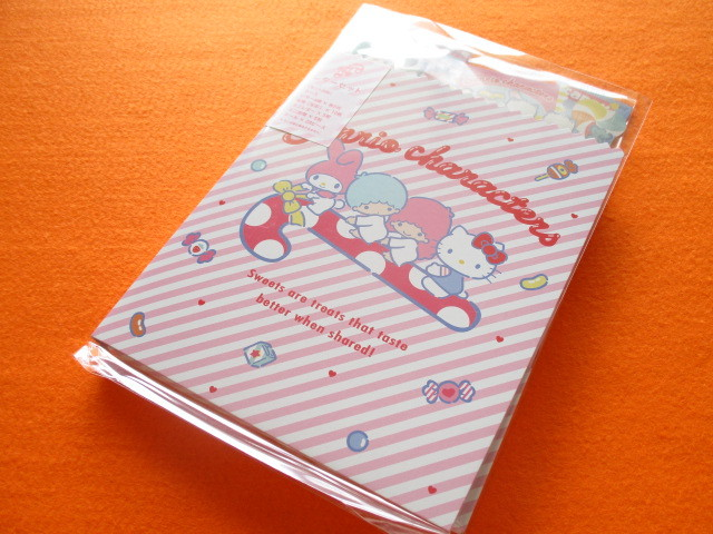 Photo1: Kawaii Cute Regular Letter Set Sanrio Original *Sanrio Characters (31689-0)