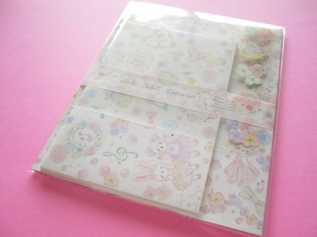 Photo1: Kawaii Cute Letter Set たけい みき (Takei Miki) Clothes Pin *Fairy Tale (LS-15419)