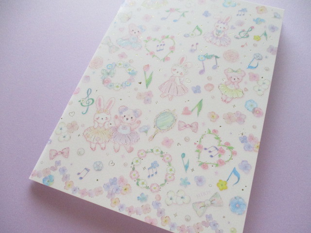 Photo1: Kawaii Cute A5 Notebook たけい みき (Miki Takei ) Clothes Pin *Fairly Tale (NB-15401)