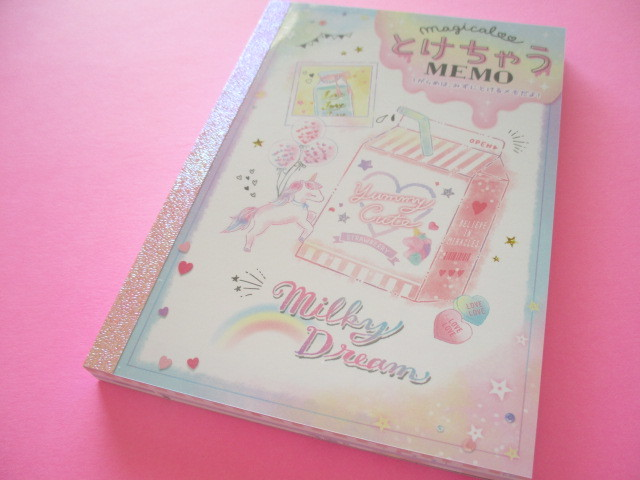 Photo1: Kawaii Cute とけちゃう Large Memo Pad Crux *Milky Dream (09377)