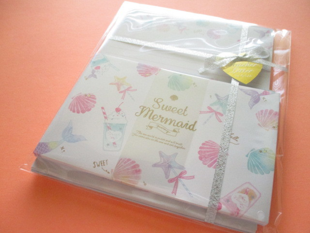 Photo1: Kawaii Cute Moncher Letter Set Q-Lia *Sweet Mermaid (40460)