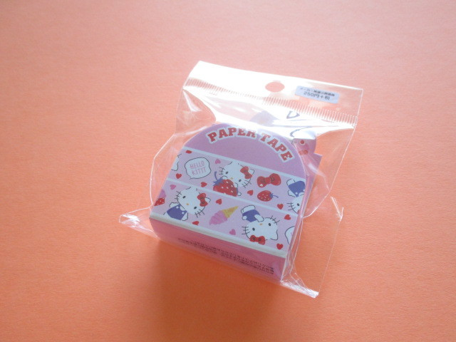 Photo1: Kawaii Cute Masking Tape/Deco Tape Sticker Sanrio Original *Hello Kitty (37459-8)