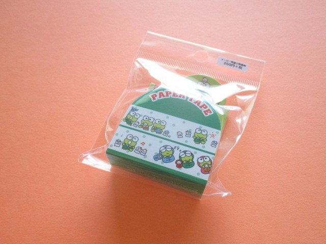 Photo1: Kawaii Cute Masking Tape/Deco Tape Sticker Sanrio Original *Kerokerokeroppi (37580-2)