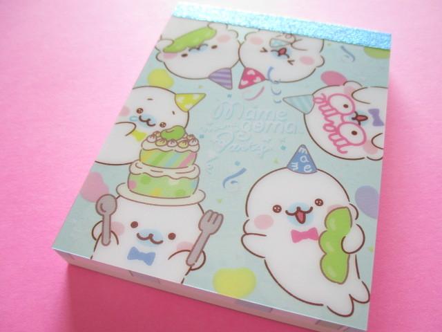 Photo1: Kawaii Cute Mini Memo Pad San-x Mamegoma *Mame Party  (MW63101-1)
