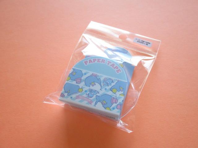 Photo1: Kawaii Cute Masking Tape/Deco Tape Sticker Sanrio Original *TUXEDO SAM  (37611--6)