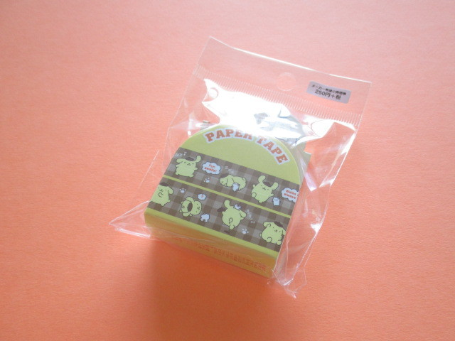 Photo1: Kawaii Cute Masking Tape/Deco Tape Sticker Sanrio Original *POMPOMPURIN (37474-1)