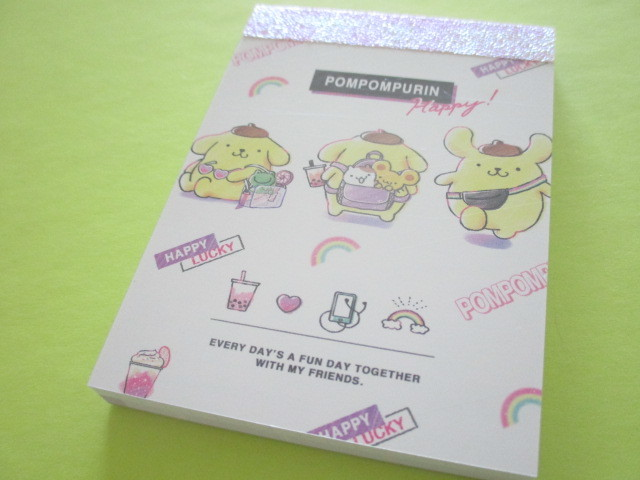 Photo1: Kawaii Cute Mini Memo Pad  Sanrio *POMPOMPURIN (53218)