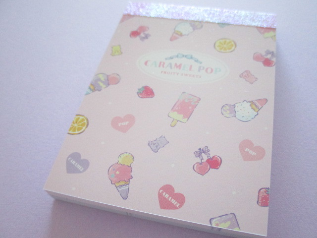 Photo1: Kawaii Cute Mini Memo Pad Crux *Fruity Sweets (59124)