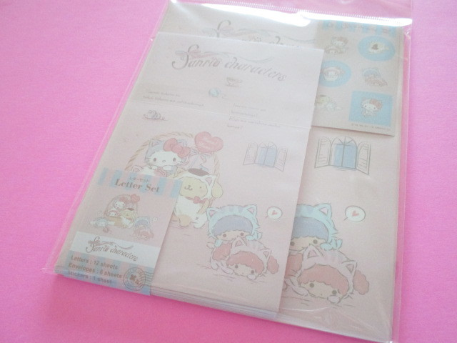 Photo1: Kawaii Cute Letter Set Sanrio *Sanrio Characters (こねこねこ)