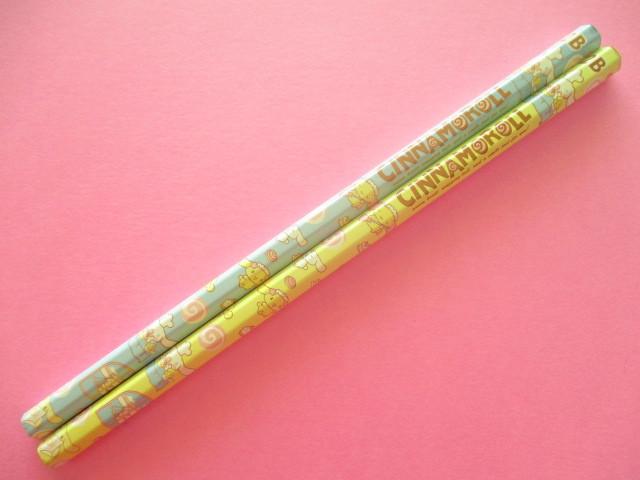 Photo1: 2 pcs Kawaii Cute Wooden Pencils Set Cinnamoroll Sanrio