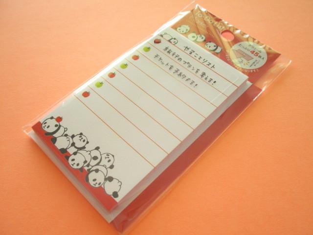Photo1: Kawaii Cute To-Do List Marker Mini Sticky Note Mind Wave *Panda (38736)