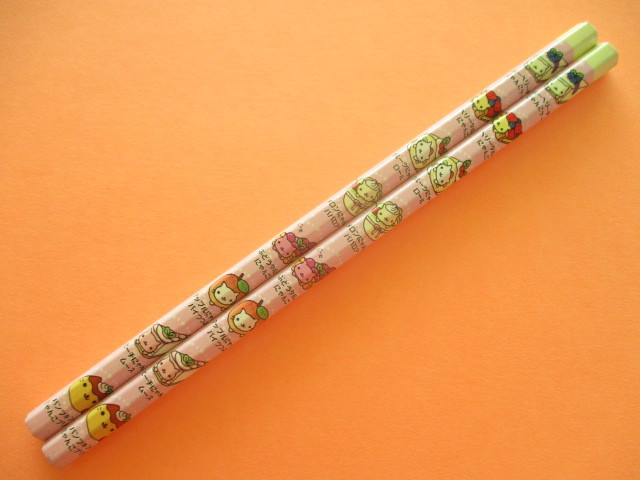 Photo1: 2 pcs Kawaii Cute Wooden Pencils Set Nyan Nyan Nyanko San-x