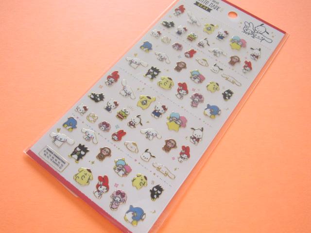 Photo1: Kawaii Cute Kiratto Mark Stickers Sheet Sanrio *Sanrio Characters (50059)
