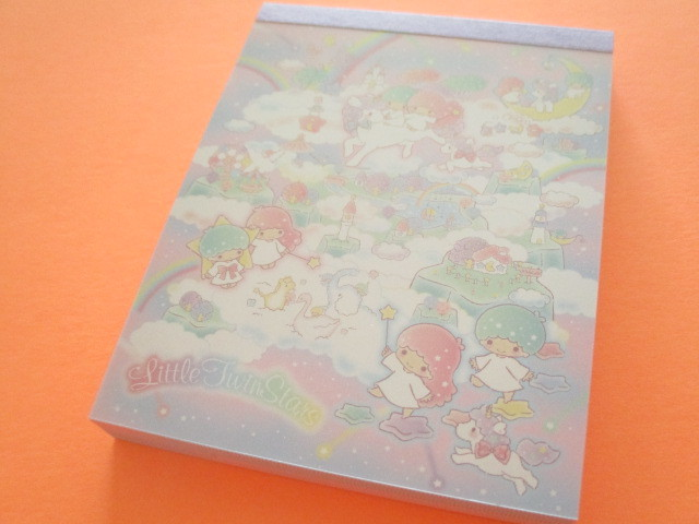 Photo1: Kawaii Cute Mini  Memo Pad Sanrio *Little Twin Stars (ゆめ星雲)