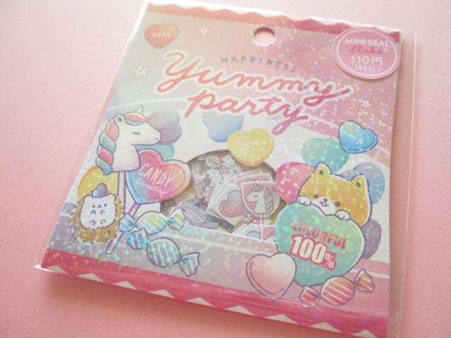 Photo1: Kawaii Cute Sticker Flakes Sack Crux *Yummy Party (73064)