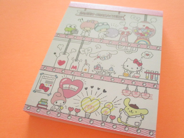 Photo1: Kawaii Cute Mini  Memo Pad Sanrio *Sanrio Characters (かわいいLAB)