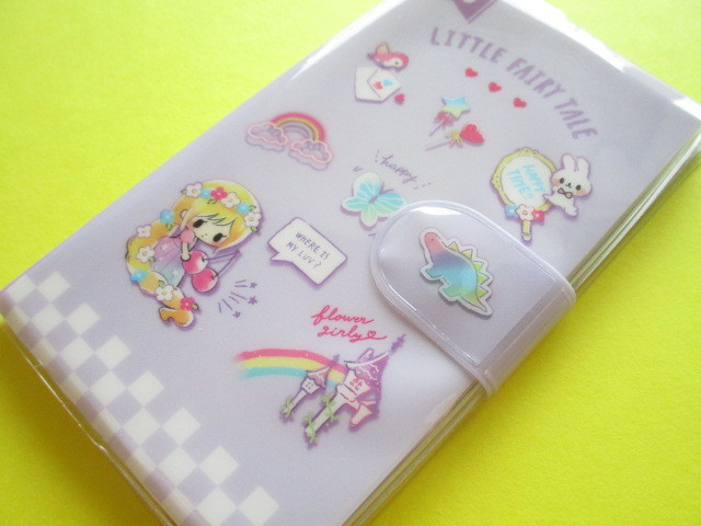 Photo1: Kawaii Cute Smapho Medium Memo Pad Little Fairy Tale Q-LiA *Little Rapunzel (44864)