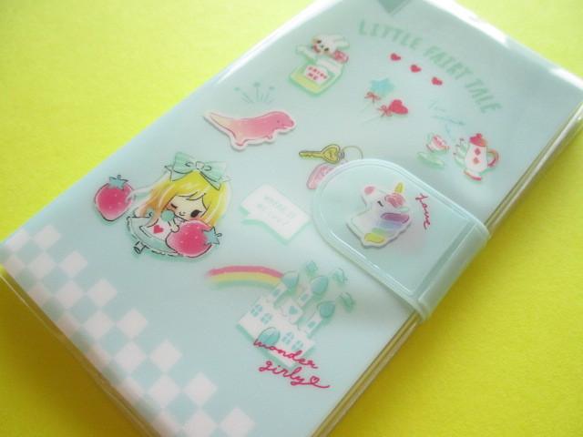 Photo1: Kawaii Cute Smapho Medium Memo Pad Little Fairy Tale Q-LiA *Alice (44863)