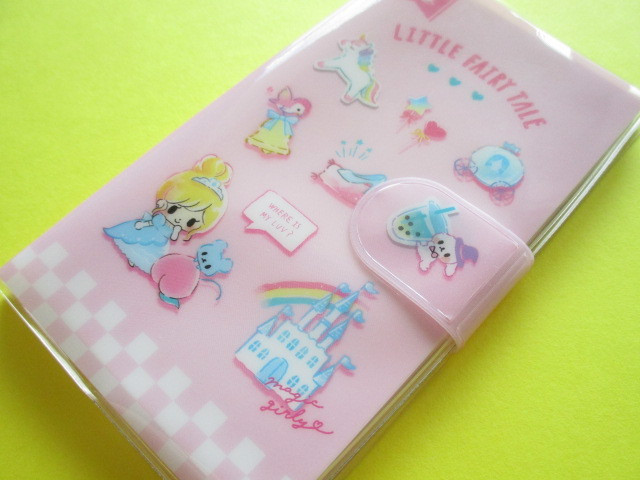 Photo1: Kawaii Cute Smapho Medium Memo Pad Little Fairy Tale Q-LiA *Merry Cinderella (34865)