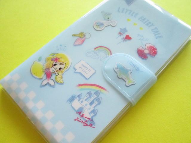 Photo1: Kawaii Cute Smapho Medium Memo Pad Little Fairy Tale Q-LiA *Little Mermaid (44866)