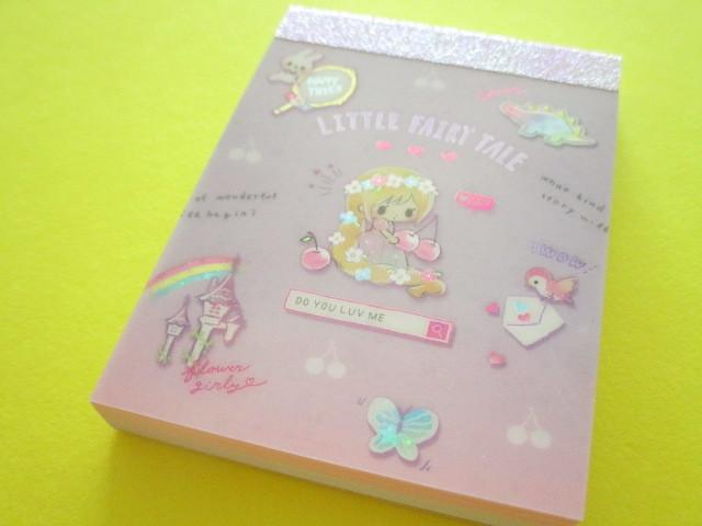 Photo1: Kawaii Cute Mini Memo Pad Little Fairy Tale Q-LiA *Little Rapunzel (44859)