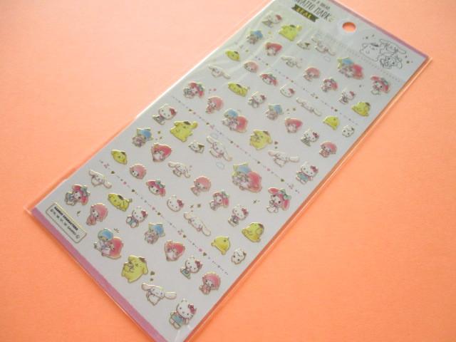 Photo1: Kawaii Cute Kiratto Mark Stickers Sheet Sanrio *Sanrio Characters (73043)