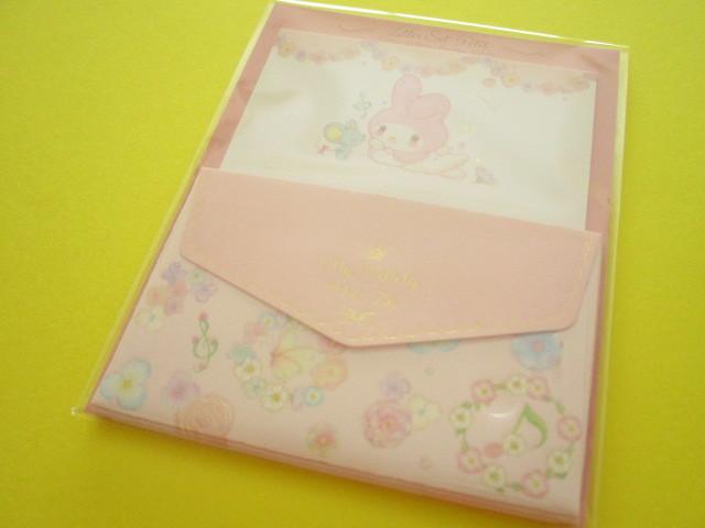 Photo1: Kawaii Cute Mini Letter Set My Melody × たけいみき Miki Takei Sanrio *Flower Fairies (LS-15468)
