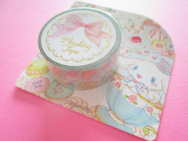 Photo1: Kawaii Cute Masking Tape Sticker Cinnamoroll  × たけいみき Miki Takei Sanrio *Tea Party (MT-15453)