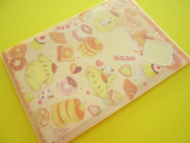 Photo1: Kawaii Cute Letter Set POMPOMPURIN × たけいみき Miki Takei Sanrio *Soufflé (LS-15465)