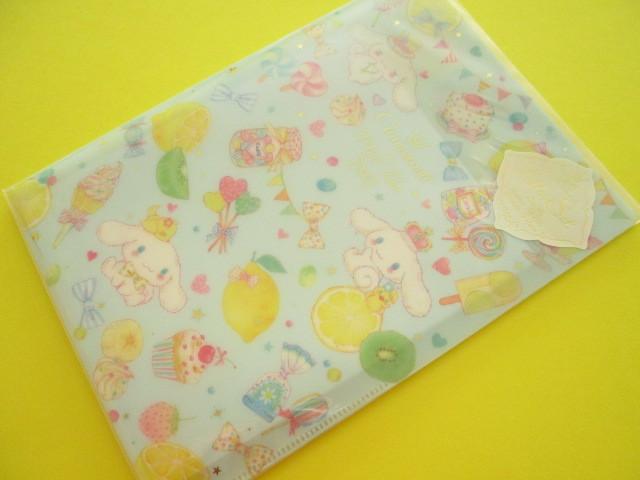 Photo1: Kawaii Cute Letter Set Cinnamoroll × たけいみき Miki Takei Sanrio *Fresh Citrus (LS-15463)