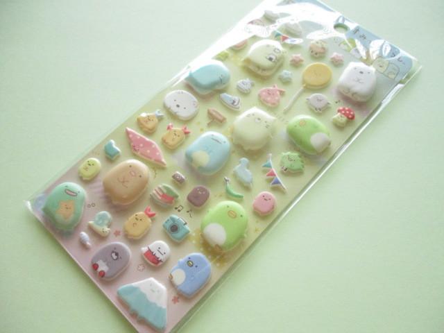 Photo1: Kawaii Cute Funi Funi Stickers Sheet San-x *Sumikkogurashi (SE48605)