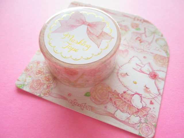Photo1: Kawaii Cute Masking Tape Sticker  Hello Kitty × たけいみき Miki Takei Sanrio *Sweet Etoile ((MT-15450)