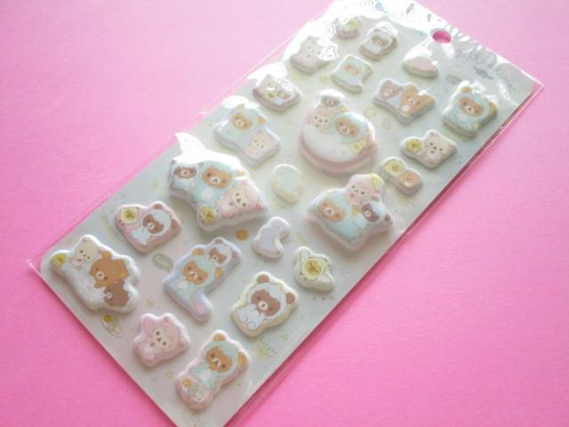 Photo1: Kawaii Cute Funi Funi Stickers Sheet San-x *Rilakkuma (SE48601)