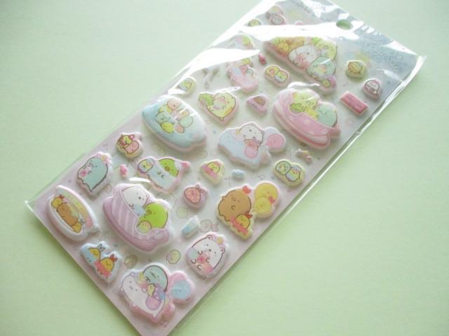 Photo1: Kawaii Cute Funi Funi Stickers Sheet San-x *Sumikkogurashi (SE48604)