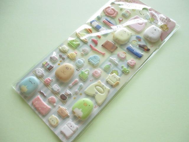 Photo1: Kawaii Cute Funi Funi Stickers Sheet San-x *Sumikkogurashi (SE48606)