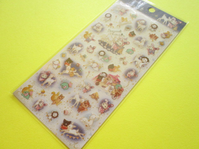 Photo1: Kawaii Cute Stickers Sheet Sentimental Circus San-x *Tsukiirokojika (SE48701)