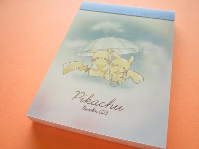 Photo1: Kawaii Cute Pikachu Mini Memo Pad Cute Model *Umbrella (17714)