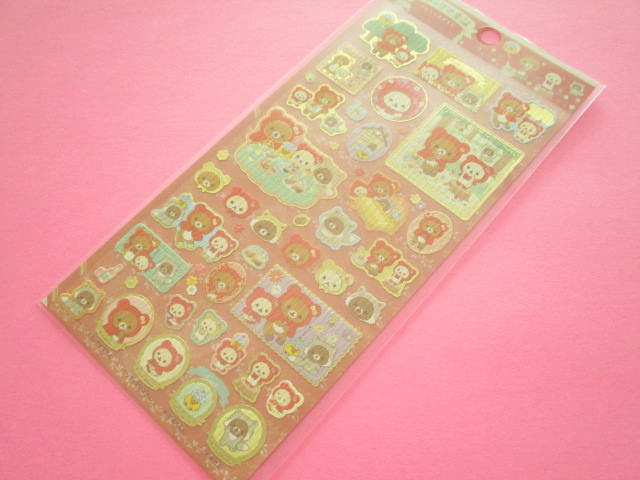Photo1: Kawaii Cute Sticker Sheet Rilakkuma San-x *Rilakkuma Fairy Tales (SE48502)