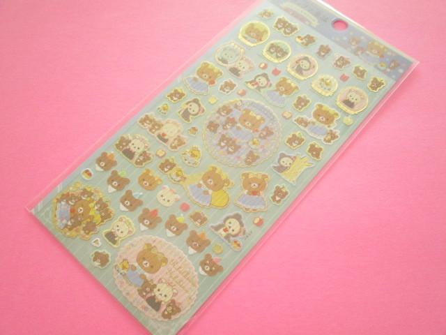Photo1: Kawaii Cute Sticker Sheet Rilakkuma San-x *Rilakkuma Fairy Tales (SE48501)