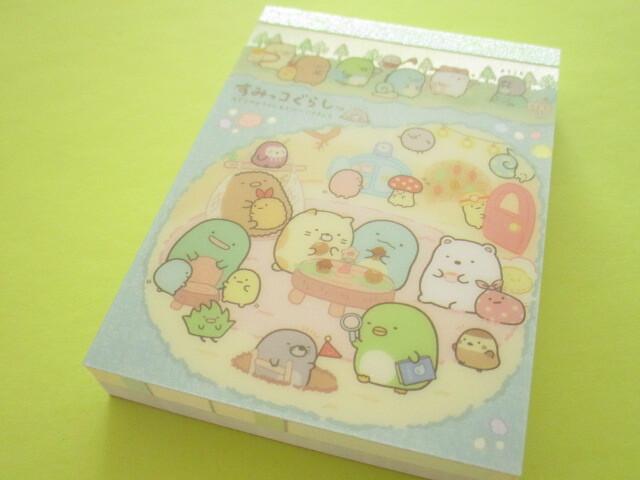 Photo1: Kawaii Cute Mini Memo Pad Sumikkogurashi San-x *House of The Mole (MH02601-1)