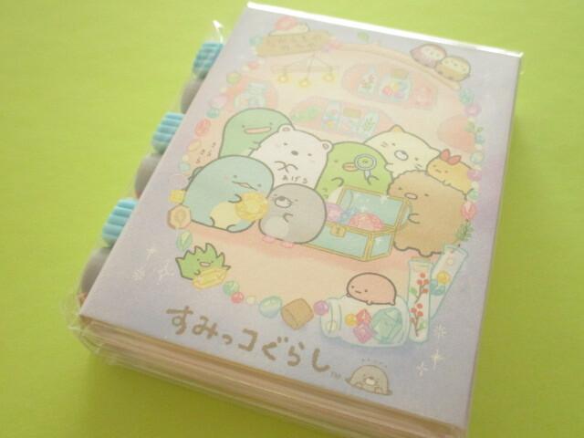 Photo1: Kawaii Cute Patapata Mini Memo Pad Set Sumikkogurashi San-x *House of The Mole (MH02701)