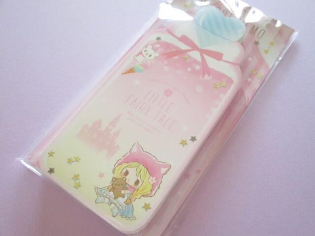 Photo1: Kawaii Cute Die-Cut Memo Pad Little Fairy Tale Q-LiA *Little Red Riding Hood (44399)