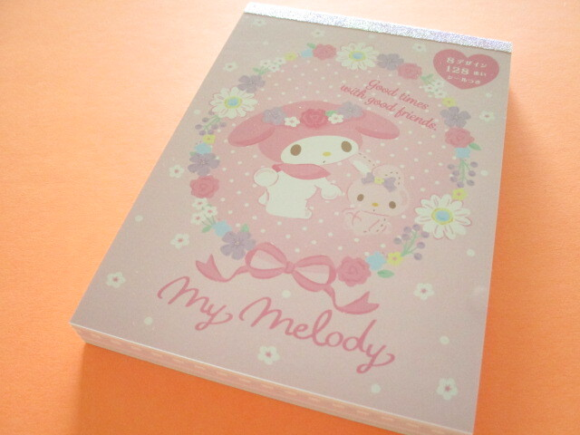 Photo1: Kawaii Cute Large Memo Pad Sanrio Original *My Melody (92302-8)
