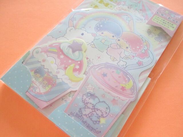 Photo1: Kawaii Cute Regular Letter Set Sanrio Original *Little Twin Stars (92270-6)