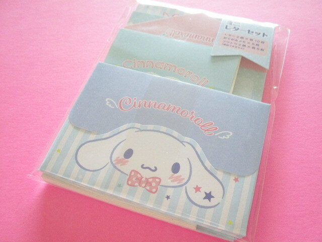 Photo1: Kawaii Cute Volume Mini Letter Set Sanrio Original *Cinnamoroll (92281-1)