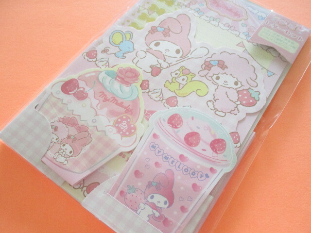 Photo1: Kawaii Cute Regular Letter Set Sanrio Original *My Melody (92267-6)