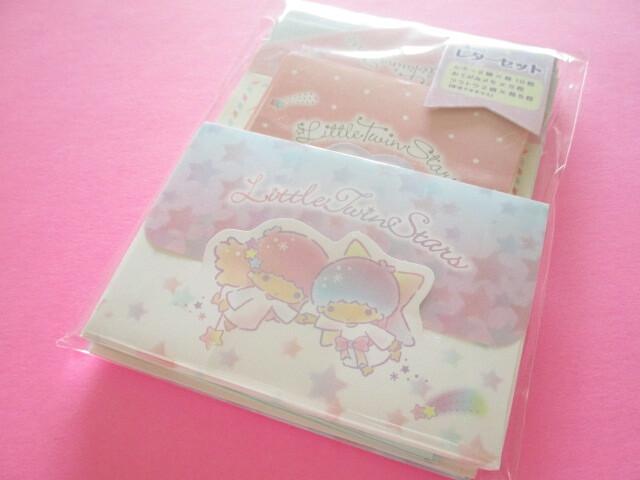 Photo1: Kawaii Cute Volume Mini Letter Set Sanrio Original *Little Twin Stars (92280-3)